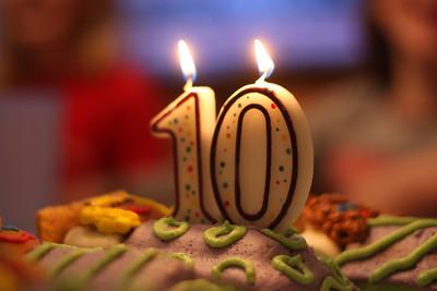 Happy 10th Birthday Hannah!