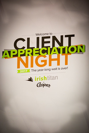 2017 Irish Titan Client Appreciation