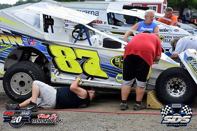 Grandview Speedway - 6/27/20 - Steve Sabo