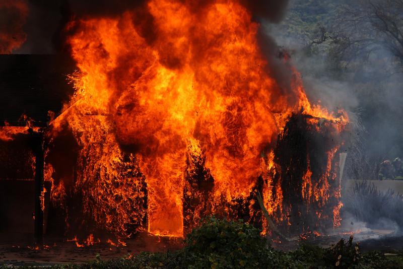 The House Burning!