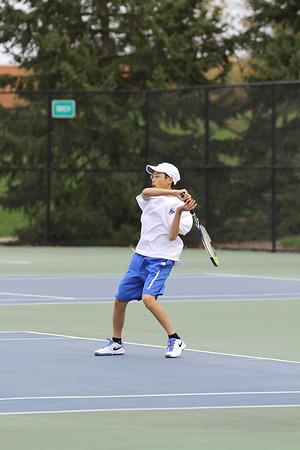 2017 Boys Varsity Tennis vs Duluth East