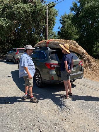 2019-08-18 Tule canoe launch day