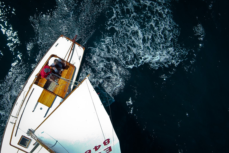 An original way to take Nautical Aerial Photography