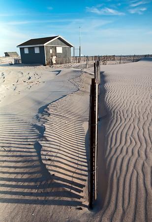 Shacks in the Sand At Jones Beach