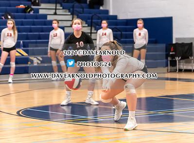 3/16/2021 - Girls Varsity Volleyball - Wellesley vs Needham