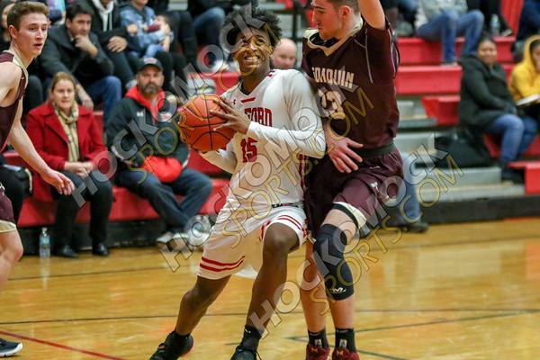 Milford-Algonquin Boys Basketball - 12-09-18