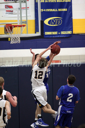 Boys Basketball, Danville vs Notre Dame 1/17/2012