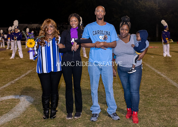 Broughton varsity football vs Cardinal Gibbons. Band and Dance Team Senior Night. October 25, 2019. MRC_3777
