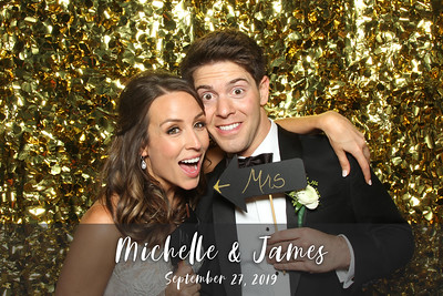 Michelle & James's Wedding - 9/27/19