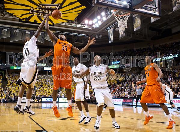 Wake Forest vs Va Tech, ACC Basketball 1/21/2009