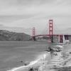 Golden Gate Bridge - Baker Beach #KW-58BW