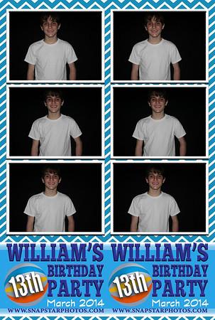 2014-03-29 William's 13th Birthday