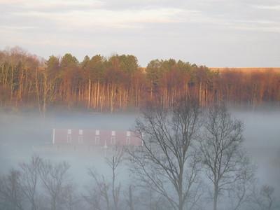 April Morning Mist