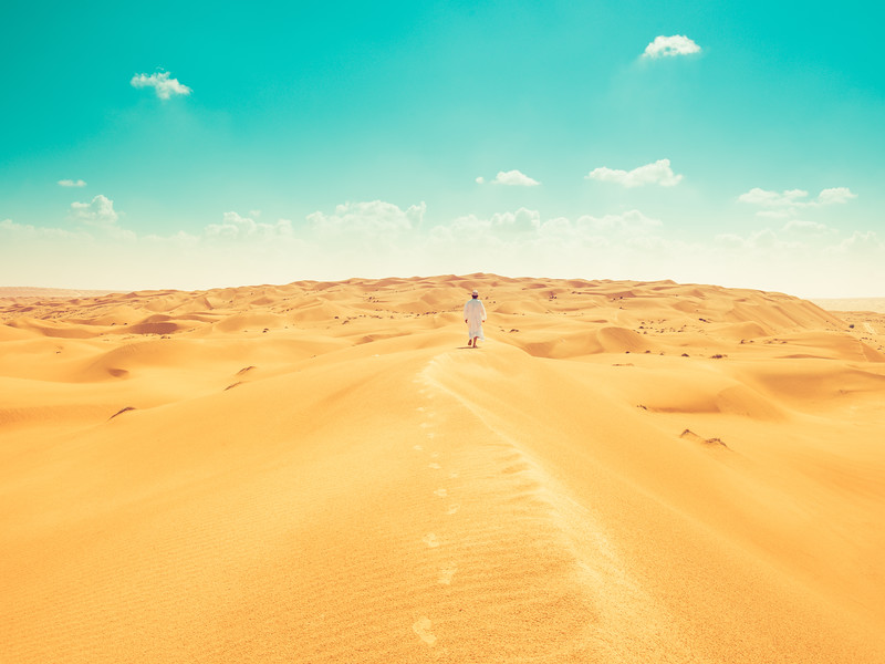 The Dunes in Oman