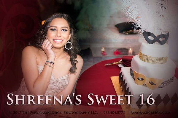 Shreena's Sweet 16