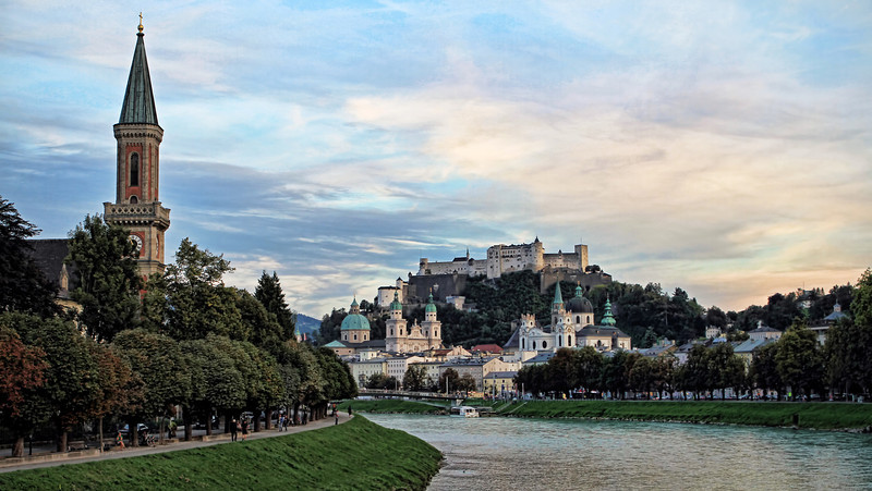 Salzburg, Salzach River