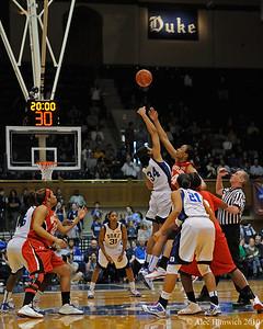 Duke vs Maryland WBB, Februrary 21, 2010