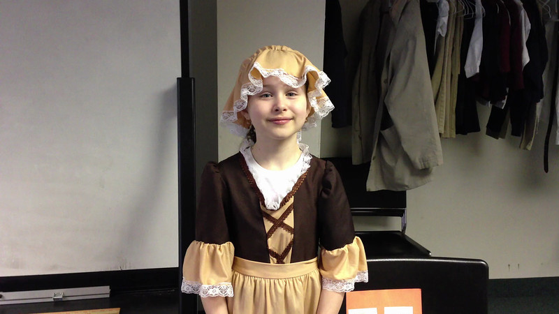 "Third grade ""Living History"" Project"