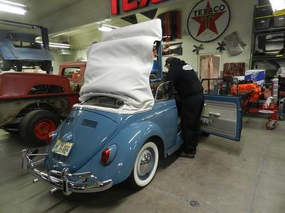 1963 Volkswagon Convertible Restoration - Mark Bowlin