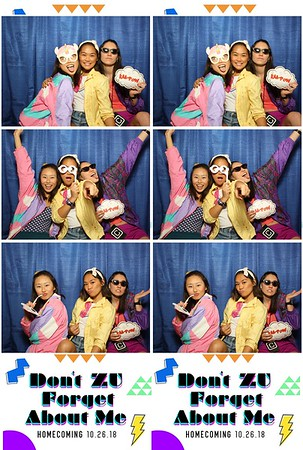 Azusa Pacific University Homecoming 2018-Photo Booth Pictures