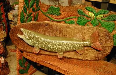 Harnett Designs Carved Fish