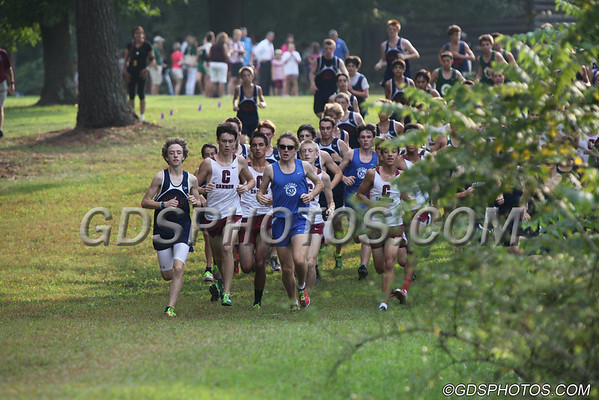 GDS VARSITY BOYS CROSS COUNTRY 09-12-2012