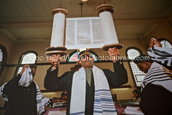 USA, Illinois, Chicago. Beth Shalom B'nai Zaken Ethiopian Hebrew Congregation. (2009)