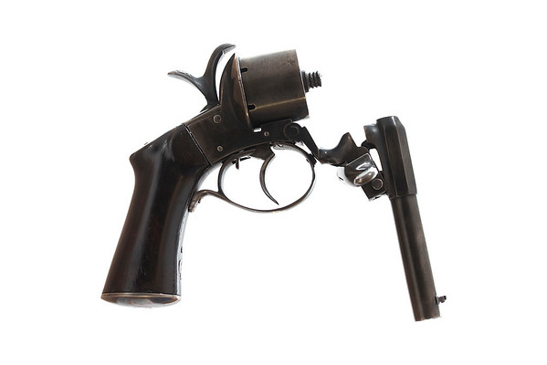 9mm Javelle patent pinfire revolver Breaking Mechanism