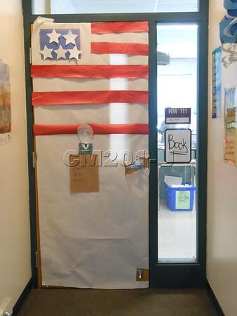 African American History Door Decorations