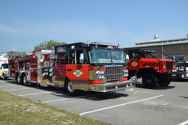 Surf City Fire Department Housing Ceremony