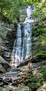 Tom's Creek Falls - Photo by Carroll Williams