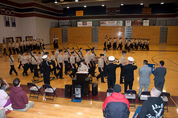 NJROTC Inspection, Pass and Review