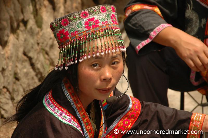 Ethnic Woman, Chong'an Market - Guizhou Province, China