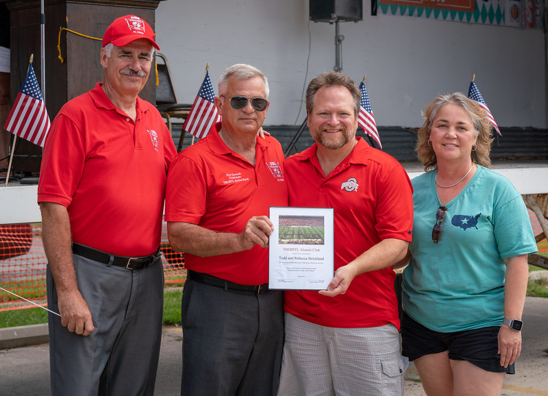 Appreciation to Drs. Strickand, our sponsors at the VFW