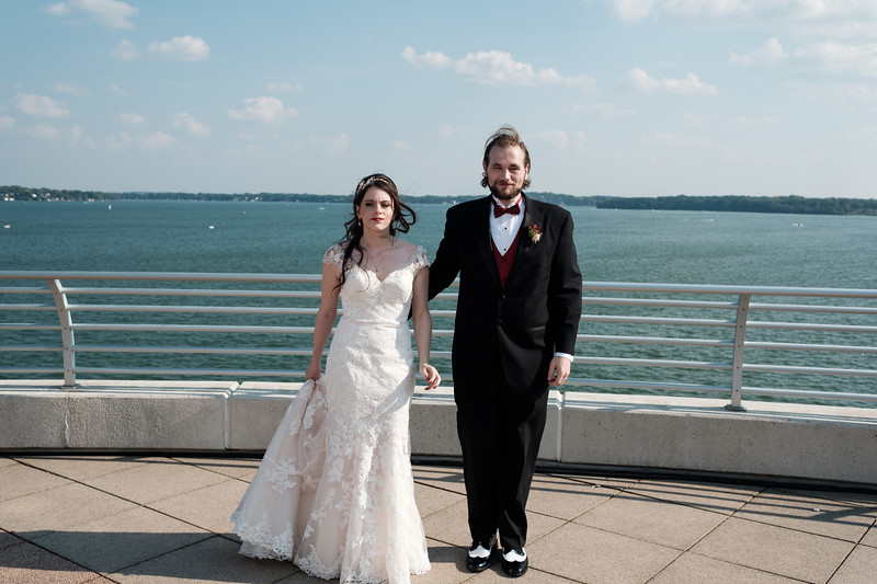 Sarah & Dominic's Monona Terrace Madison wedding