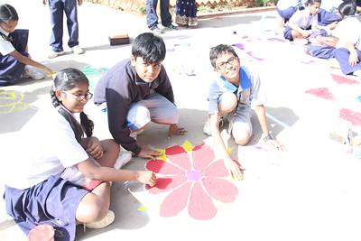 CCA - Rangoli Competition