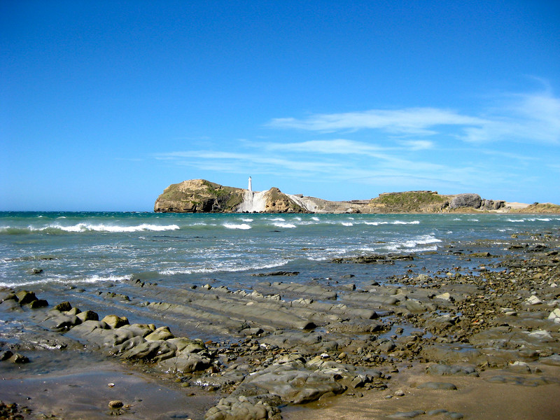Castlepoint in New Zealand