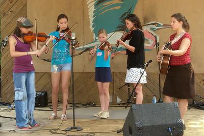 Bearfoot Bluegrass Camp for Kids