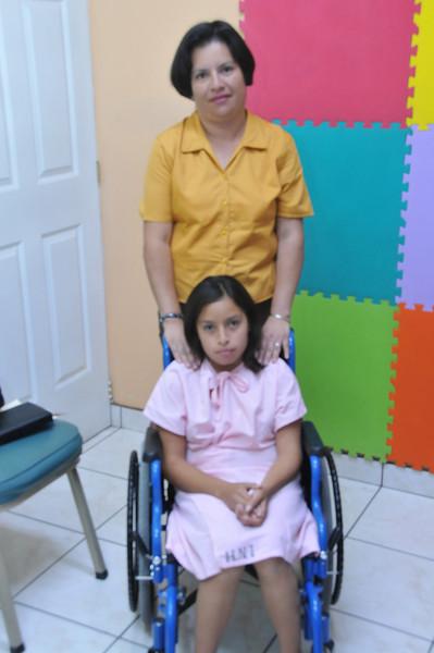 Pricilia and mom