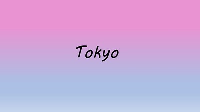 2018 Japan 3 More Tokyo