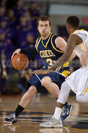Coker Cobras vs ECU Pirates Men's Basketball 11/17/2011