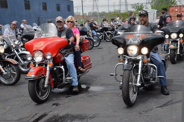 Axemen Club bike blessing 2015