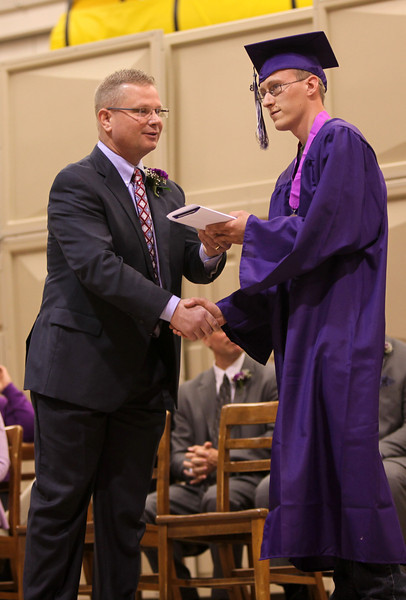 Wahpeton High Graduation, May 26, 2013