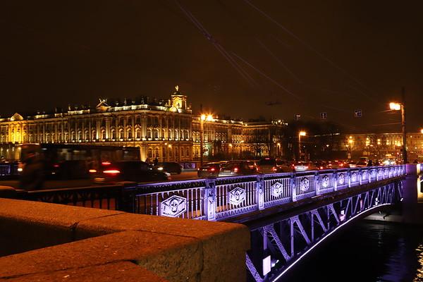 Golden Evening St-Petersburg / Золотой вечерний Петербург