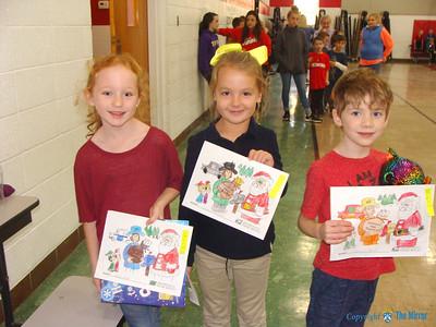 Oran Christmas coloring contest