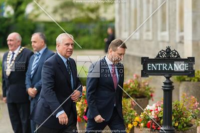 The Duke of York Fermanagh Visit