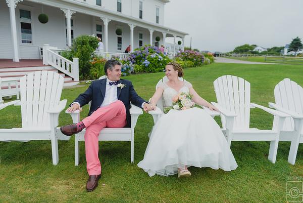 Lauren and Ken Manosh, The Spring House, Block Island RI