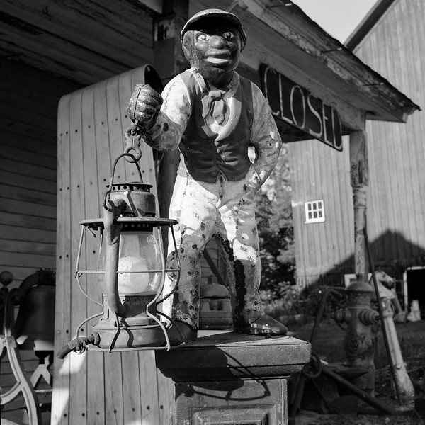 Lawn Jockey, New Haven Junction, VT. June 2001