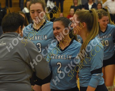 Franklin - Shrewsbury Volleyball 11-10-18