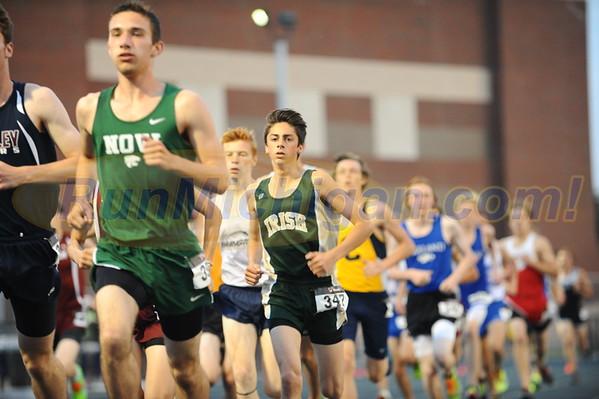 Boys' 3200 Meter Run - 2016 Oakland County T&F